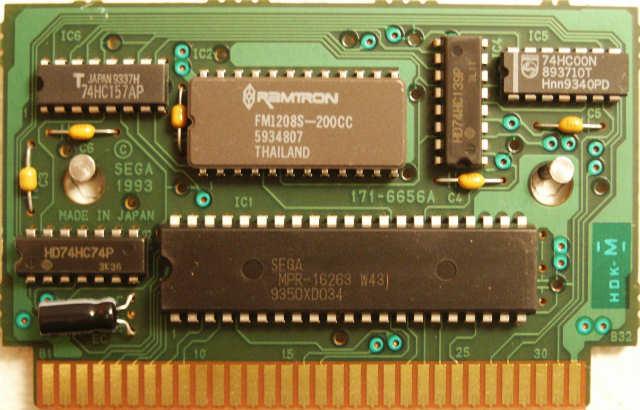 Sega Genesis PCB Information / Sonic The Hedgehog 3